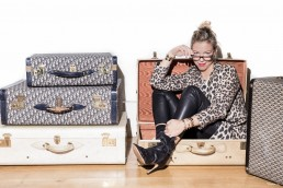 julie parnet creatrice de la marque de bijou Luj