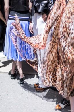 Défilé backstage Bouchra Jarrar haute Couture