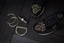Le Coq Sportif sneakers noirs