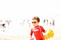 Trouville plage famille