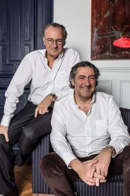 Portrait Michel et Antoine Attias